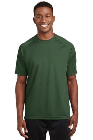 T473 sport-tek dry zone short sleeve raglan t-shirt