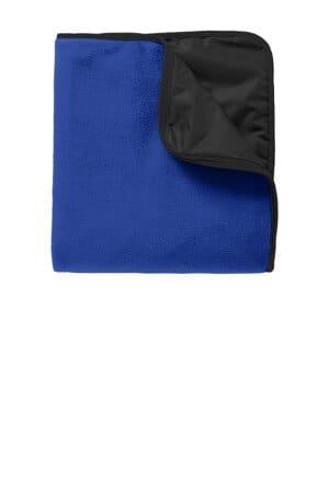 port authority fleece & poly travel blanket tb850