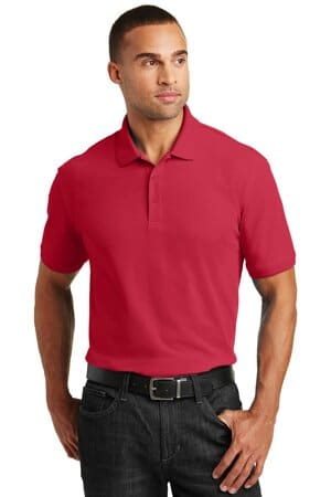port authority tall core classic pique polo tlk100