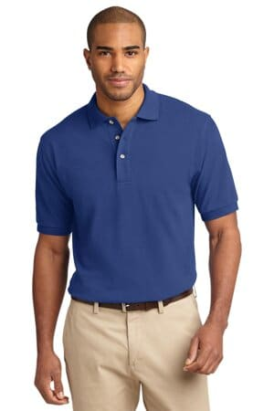 port authority tall heavyweight cotton pique polo tlk420