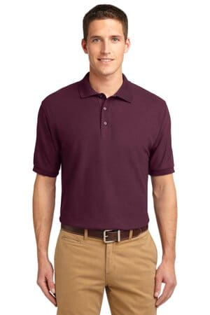 TLK500 port authority tall silk touch polo tlk500