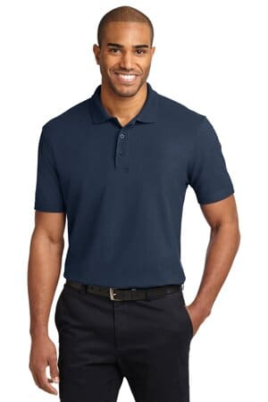 TLK510 port authority tall stain-release polo