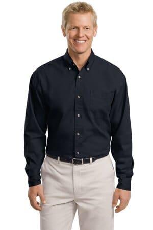 port authority tall long sleeve twill shirt tls600t