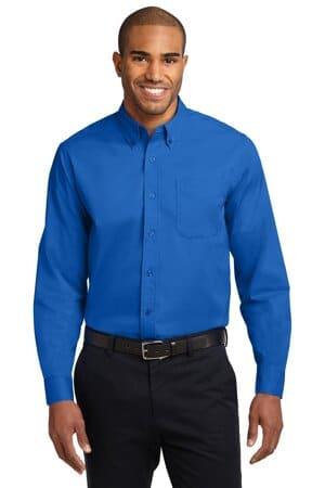 port authority tall long sleeve easy care shirt tls608