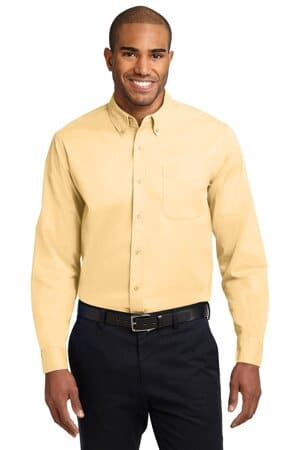 port authority tall long sleeve easy care shirt tls608