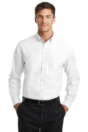 TS658 port authority tall superpro oxford shirt ts658