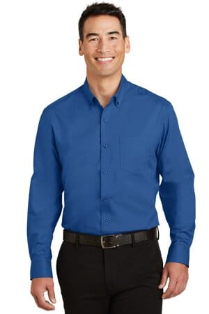 TS663 port authority tall superpro twill shirt ts663