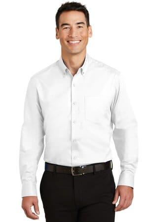 TS663 port authority tall superpro twill shirt