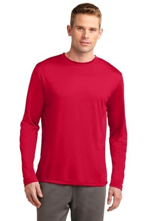 sport-tek tall long sleeve posicharge competitor tee tst350ls
