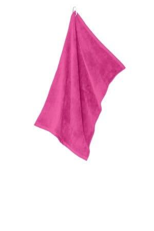 port authority grommeted microfiber golf towel tw530