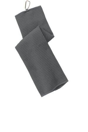 TW60 port authority waffle microfiber golf towel tw60