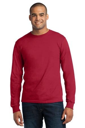 port & company-long sleeve all-american tee usa100ls