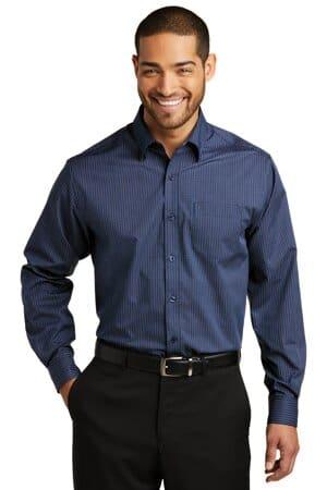 W643 port authority micro tattersall easy care shirt