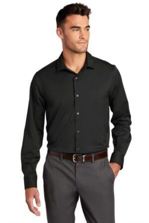 W680 port authority city stretch shirt w680