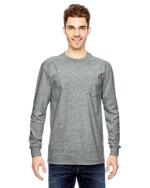 men's tall 675 oz heavyweight work long-sleeve t-shirt