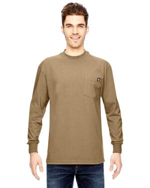 men's 675 oz heavyweight worklong-sleeve t-shirt