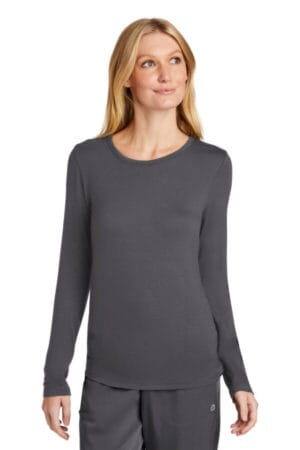 WW4029 wonderwink women's long sleeve layer tee