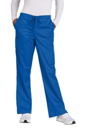 WW4750P wonderwink women's petite workflex flare leg cargo pant