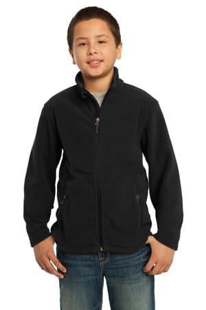 Y217 port authority youth value fleece jacket