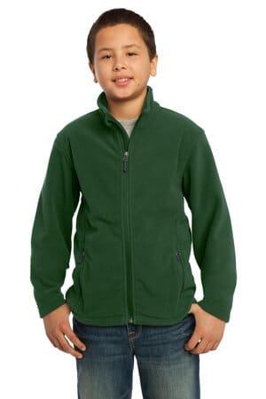 Y217 port authority youth value fleece jacket y217