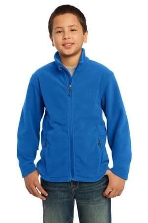 Y217 port authority youth value fleece jacket y217