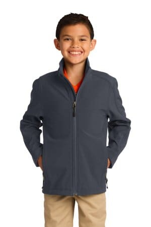 Y317 port authority youth core soft shell jacket