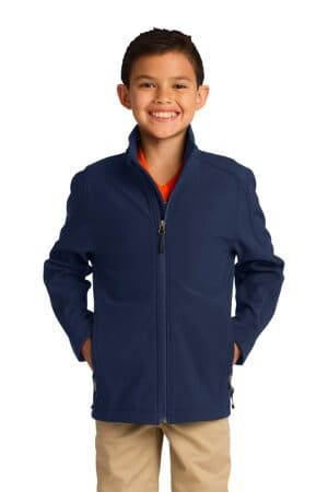 Y317 port authority youth core soft shell jacket y317