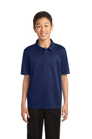 Y540 port authority youth silk touch performance polo