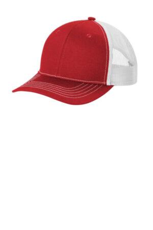 YC112 port authority youth snapback trucker cap