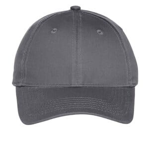 port & company youth six-panel unstructured twill cap yc914