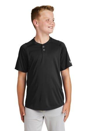 new era youth diamond era 2-button jersey ynea221