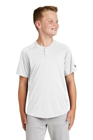 new era youth diamond era 2-button jersey ynea221