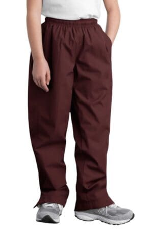 YPST74 sport-tek youth wind pant ypst74