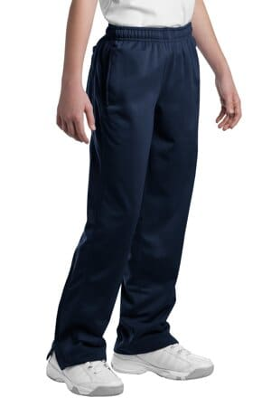 YPST91 sport-tek youth tricot track pant ypst91