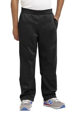 YST237 sport-tek youth sport-wick fleece pant yst237