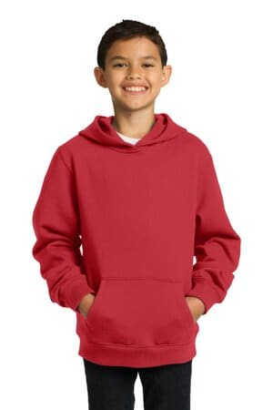 sport-tek youth pullover hooded sweatshirt yst254