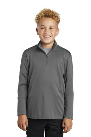 sport-tek youth posicharge competitor 1/4-zip pullover yst357
