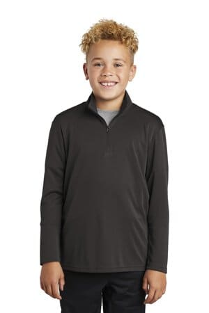 YST357 sport-tek youth posicharge competitor 1/4-zip pullover