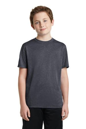YST360 sport-tek youth heather contender tee yst360