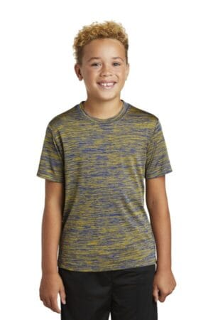 YST390 sport-tek youth posicharge electric heather tee