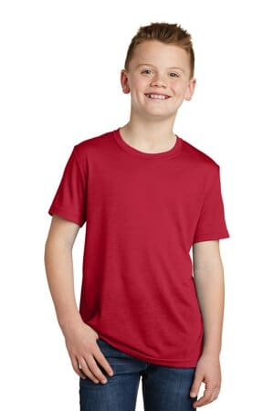 sport-tek youth posicharge competitor cotton touch tee yst450