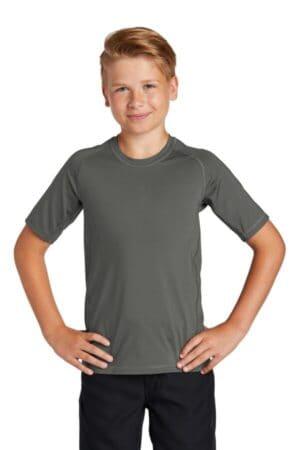 YST470 sport-tek youth rashguard tee yst470