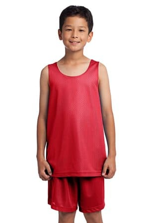 sport-tek youth posicharge classic mesh reversible tank yst500