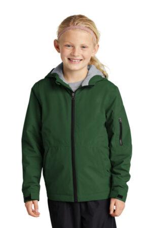 YST56 sport-tek youth waterproof insulated jacket