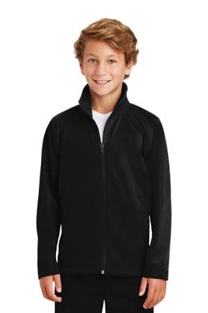 YST90 sport-tek youth tricot track jacket